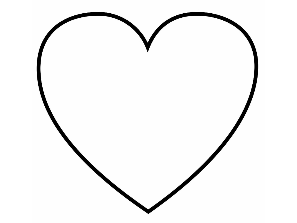 heart shape for coloring heart coloring page for girls to print for free shape heart coloring for