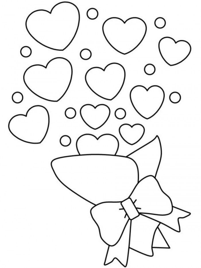 heart shape for coloring shape coloring pages for preschoolers for shape heart coloring