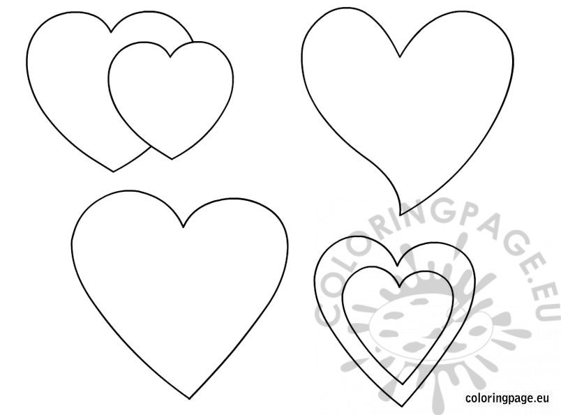 heart shape for coloring shapes coloring pages coloring pages for shape heart coloring