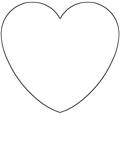 heart shape for coloring under the sea on pinterest clowns fish and finding nemo for coloring heart shape