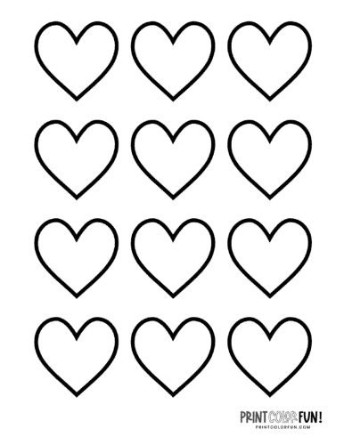 heart shape for coloring valentines day heart shape note paper coloring page shape for coloring heart
