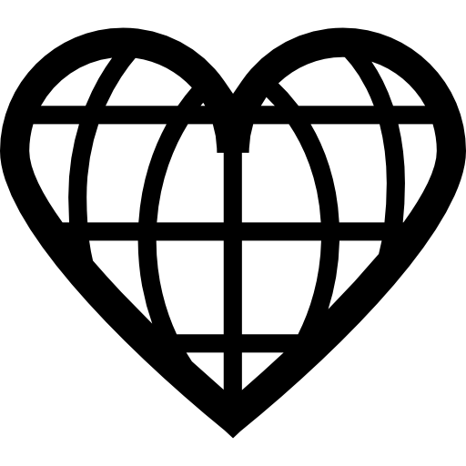 heart shaped earth earth day clipart black and white free download on heart earth shaped