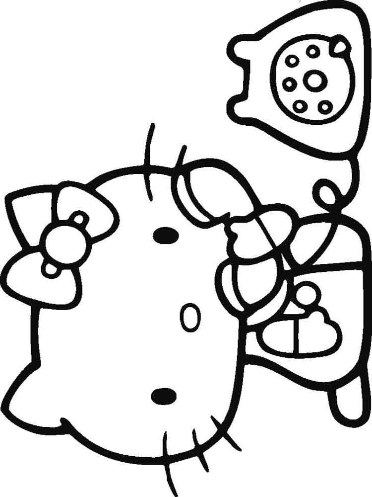 hello kitty color page free coloring pages hello kitty coloring pages hello page hello kitty color