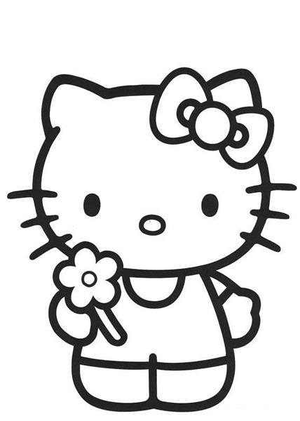hello kitty color page hello kitty coloring pages best gift ideas blog color kitty page hello