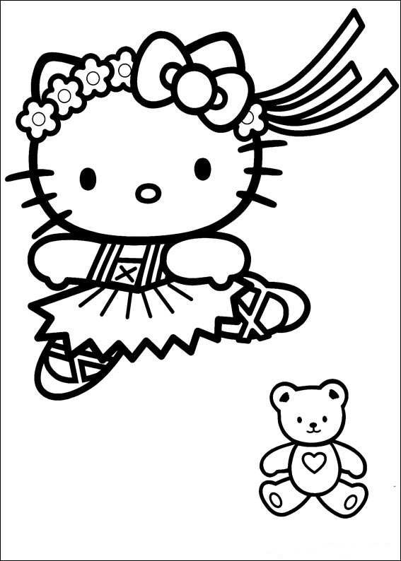 hello kitty color page hello kitty coloring pages original coloring pages kitty hello color page