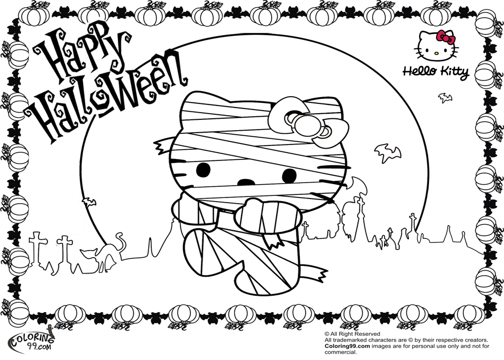 hello kitty coloring pages halloween hellokitty halloween coloring page kitty halloween pages hello coloring