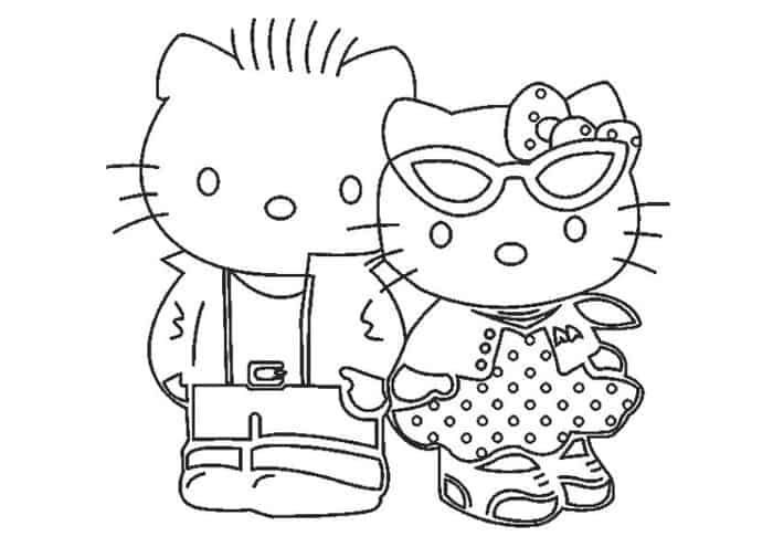 hello kitty family coloring pages hello kitty coloring pages kids coloring home pages family coloring kitty hello