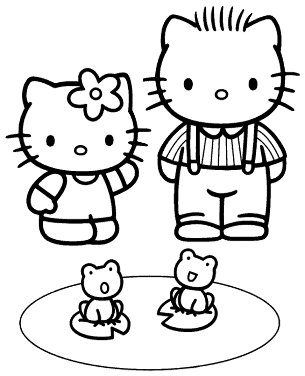 hello kitty family coloring pages hello kitty family coloring pages divyajananiorg kitty family pages hello coloring