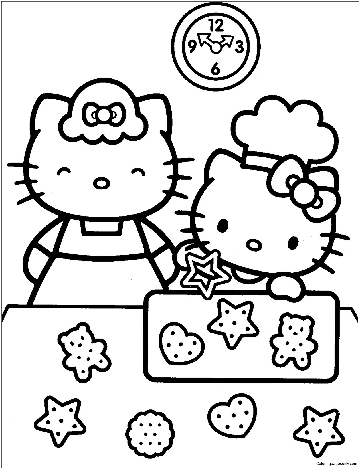 hello kitty family coloring pages hello kitty family coloring pages divyajananiorg pages hello family coloring kitty