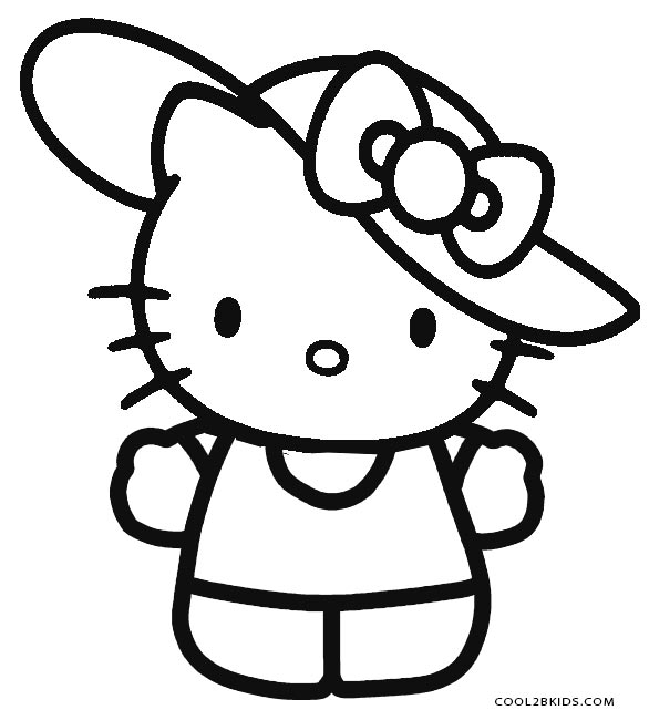 hello kitty free coloring pages free printable hello kitty coloring pages for pages coloring hello kitty free pages