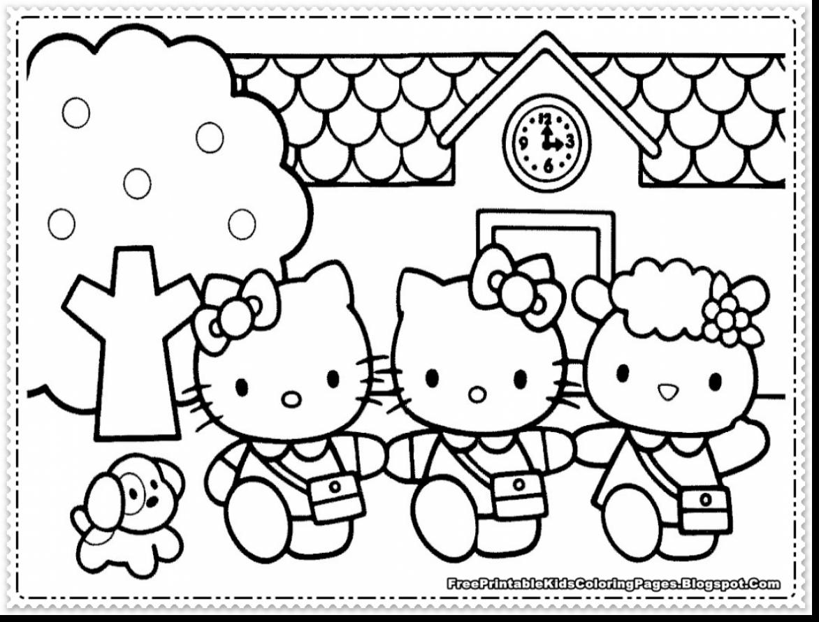 hello kitty free coloring pages hello kitty coloring pages free printable pictures hello pages kitty coloring free