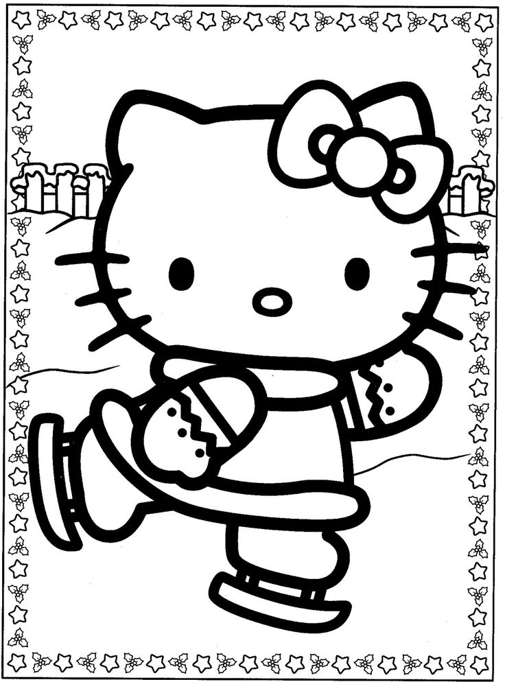 hello kitty free coloring pages hello kitty templates and coloring pages free printables pages coloring free kitty hello