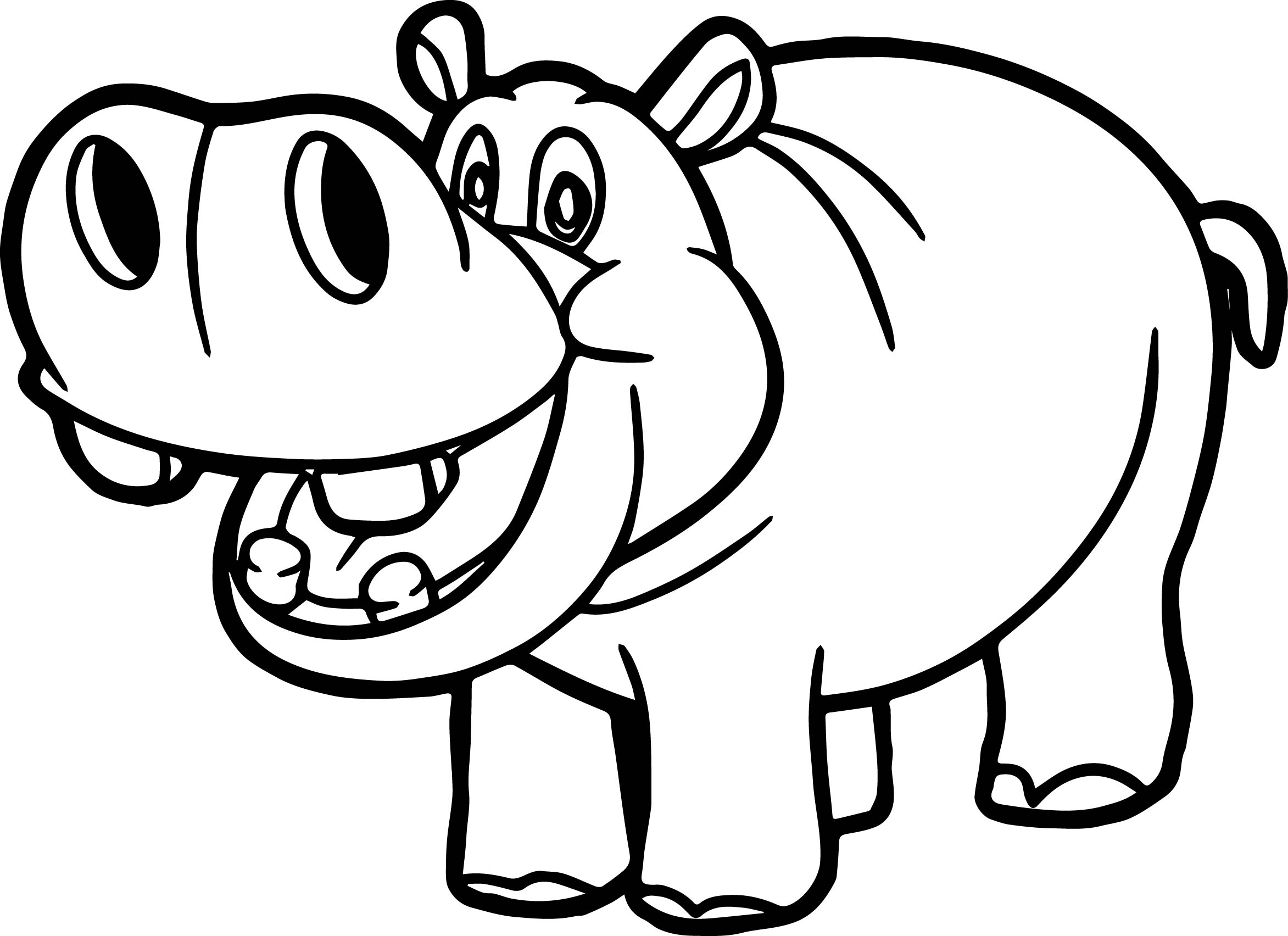 hippo coloring page printable hippo coloring pages for kids cool2bkids page coloring hippo