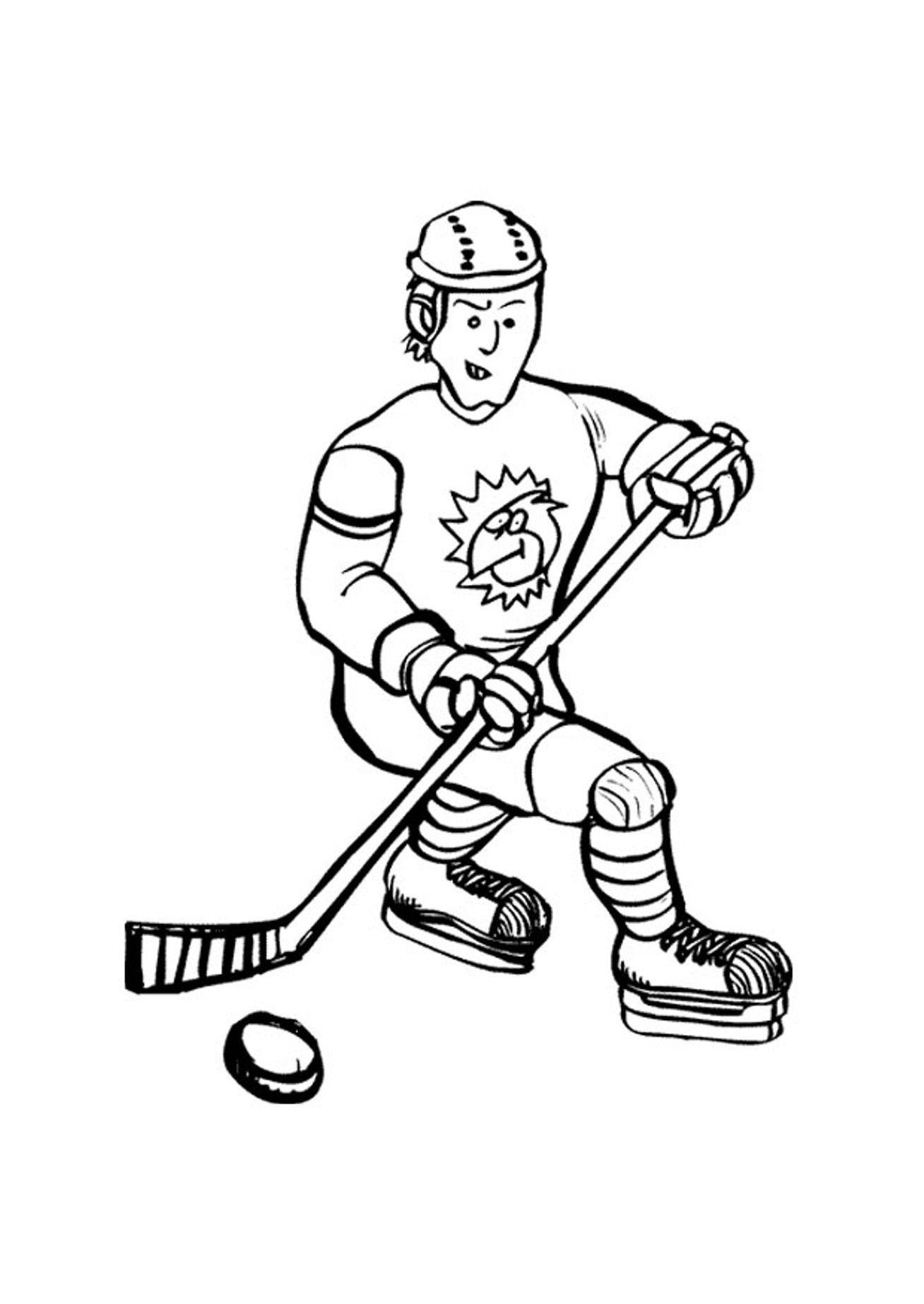 hockey coloring pages to print free printable hockey coloring pages coloring home hockey print to pages coloring