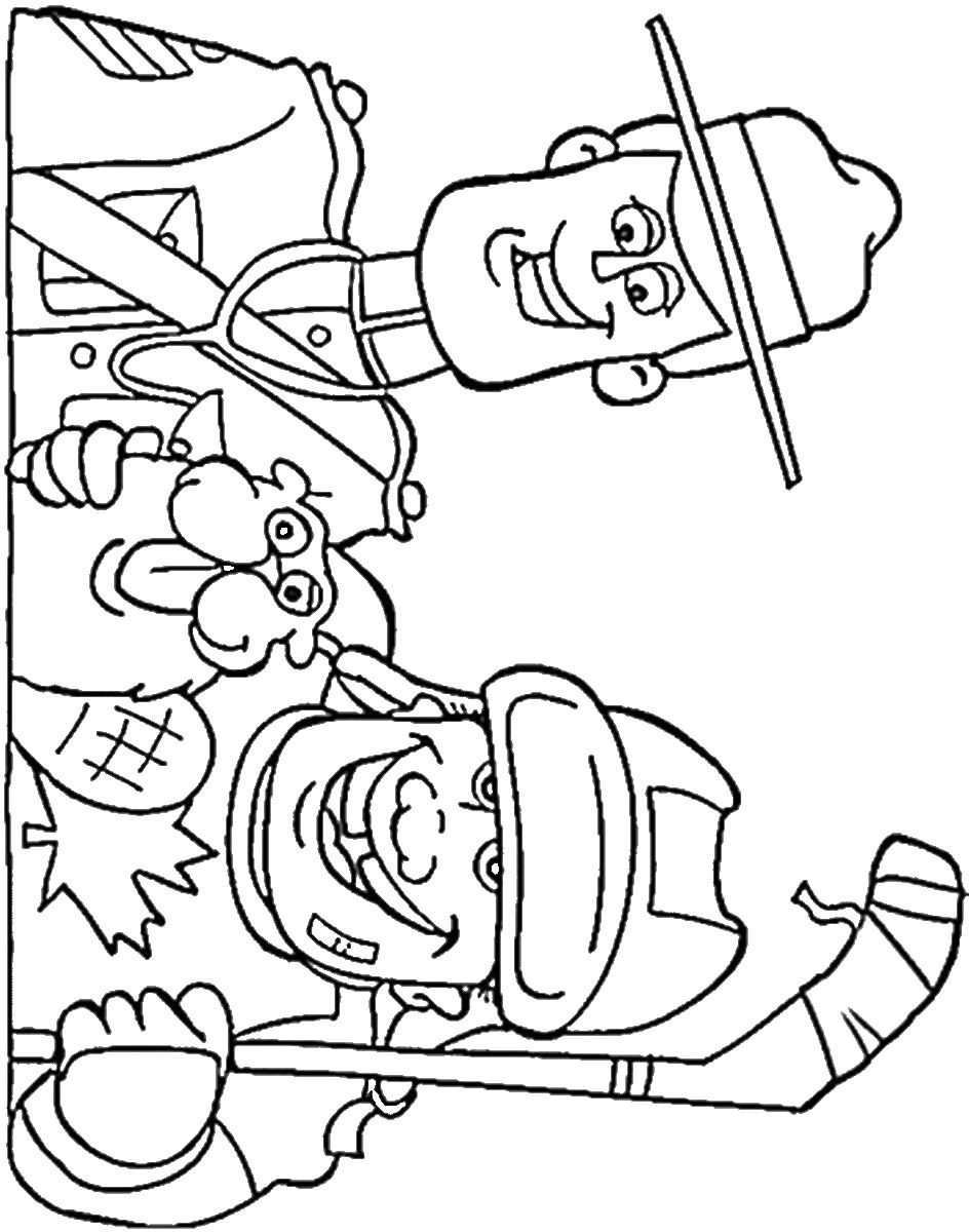 hockey coloring pages to print hockey coloring pages birthday printable coloring hockey to pages print