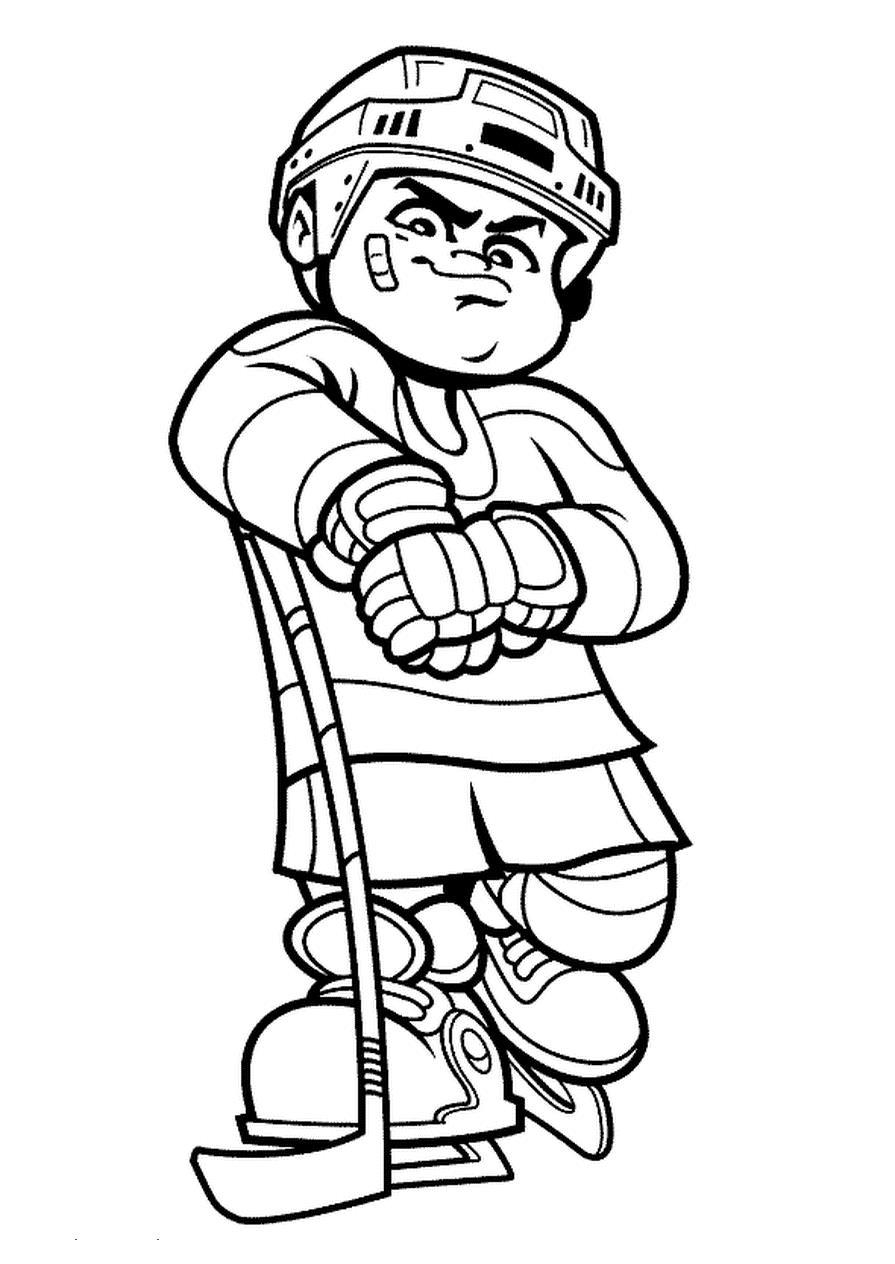 hockey coloring pages to print hockey player coloring pages to download and print for free to pages hockey coloring print