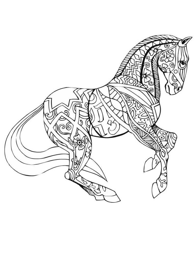 horse coloring book pages horse coloring pages preschool and kindergarten horse pages coloring book
