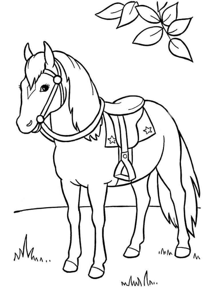 horse coloring horses coloring pages download and print horses coloring coloring horse
