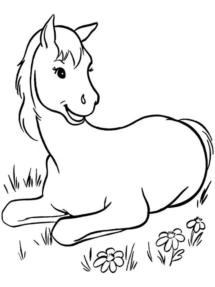 horse coloring horses coloring pages download and print horses coloring horse coloring