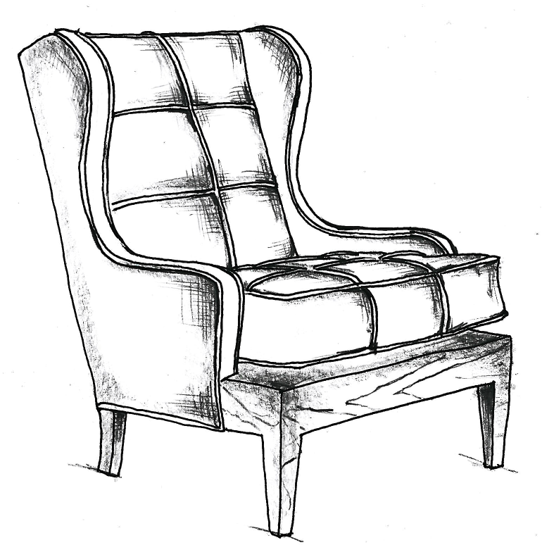 how to draw a 3d chair chairs drawing chairdrawing chair drawing painted draw 3d to how chair a