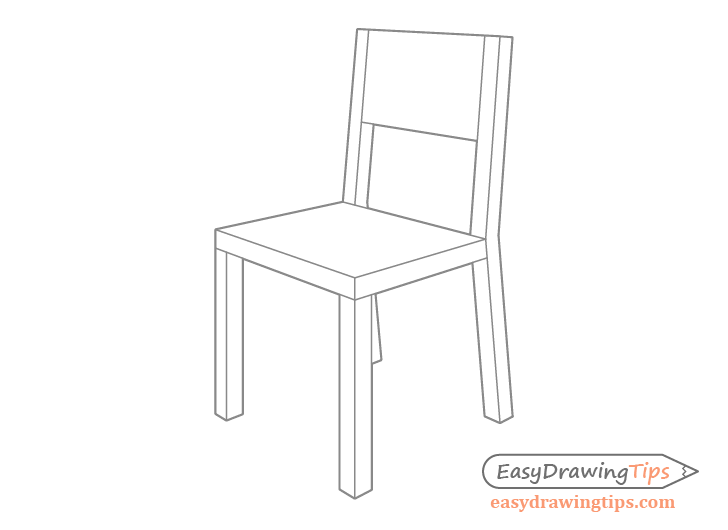 how to draw a 3d chair draw a chair art chair chair drawing drawing furniture to chair how a draw 3d