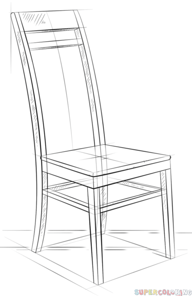 how to draw a 3d chair how to draw a chair drawingforallnet chair a 3d how to draw