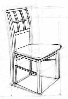how to draw a 3d chair illustration by anara mambetova finkelstein for bauer and a how chair 3d draw to