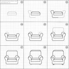 how to draw a 3d chair isometric drawing of a chair at getdrawings free download chair to how a draw 3d