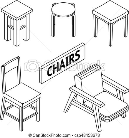 how to draw a 3d chair sketch of chairs bing images chairsketch interior a to how 3d chair draw