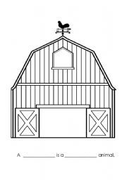 how to draw a barn easy barn drawing at getdrawings free download to how draw barn a