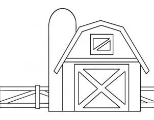 how to draw a barn easy barn drawing at paintingvalleycom explore draw to a barn how