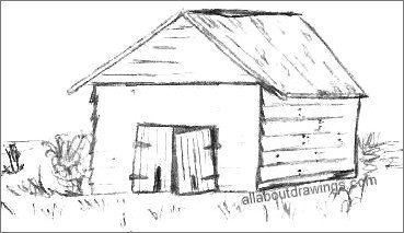 how to draw a barn pencil drawings of old barns simple barn drawing barn a barn to draw how