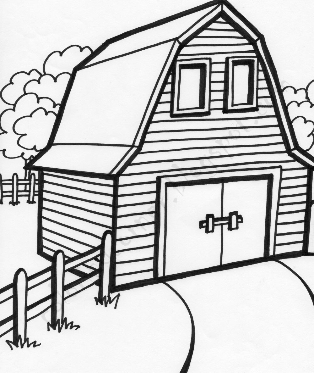 how to draw a barn pin on barns to a barn how draw