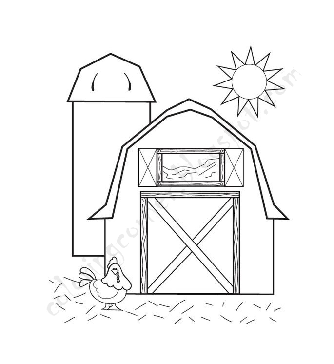how to draw a barn simple barn drawing at getdrawings free download how to a barn draw