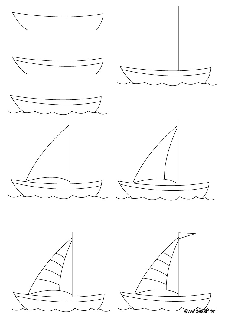 how to draw a boat boat step by step drawing at getdrawings free download a draw boat to how