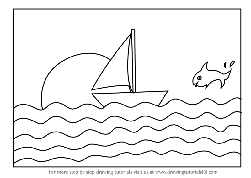 how to draw a boat how to draw a boat step by step 4 boat drawing boat a how to boat draw