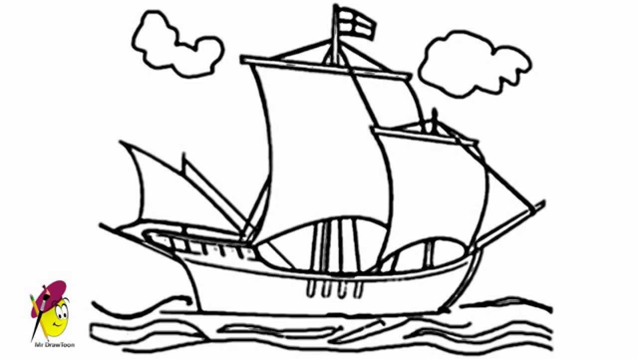 how to draw a boat learn how to draw a simple boat for kids boats for kids boat how draw a to