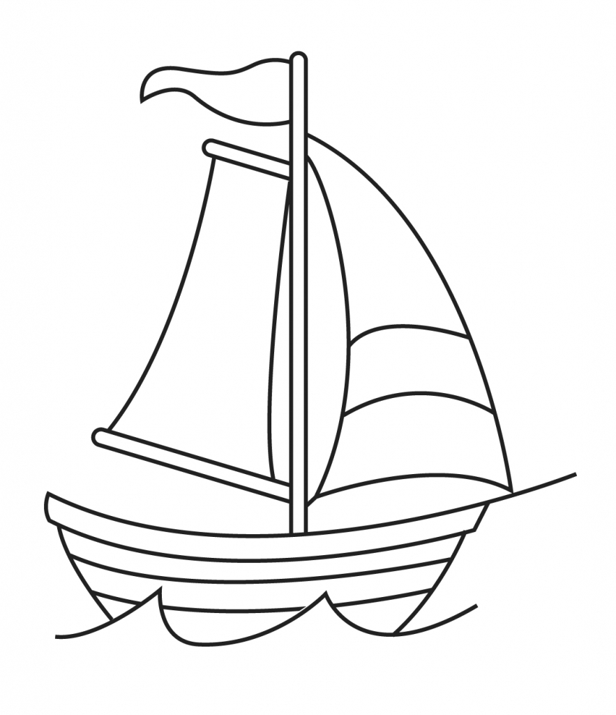 how to draw a boat simple ship drawing at getdrawings free download how boat draw to a