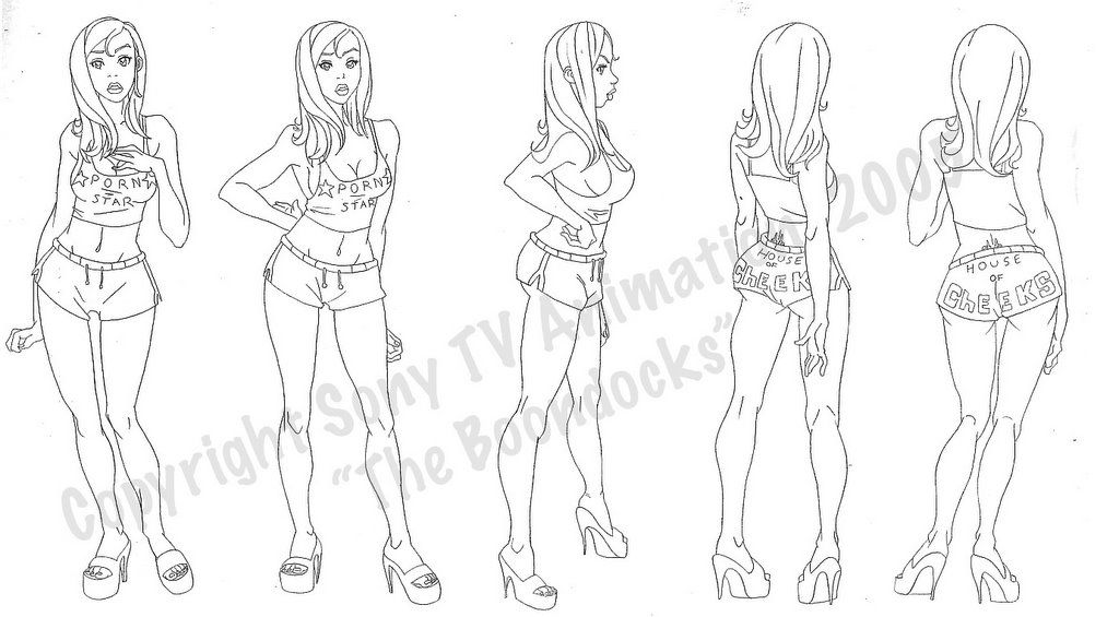 how to draw a boondocks character female model sheets david colman interview boondocks how draw to boondocks a character