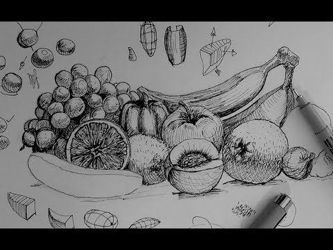 how to draw a bowl of fruit step by step fruit basket drawing step by step at getdrawings free to a step fruit bowl draw of by how step