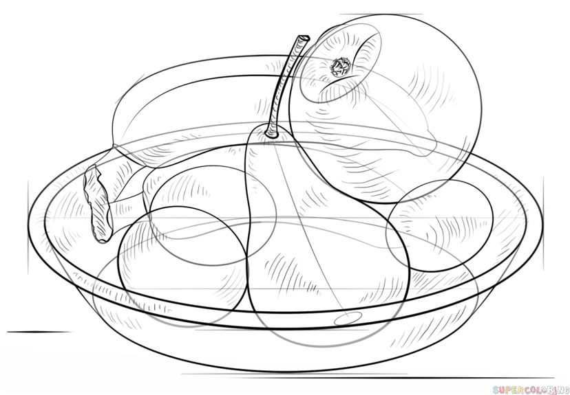 how to draw a bowl of fruit step by step fruit bowl template fruit basket coloring pages fruit a draw step of step fruit how to by bowl