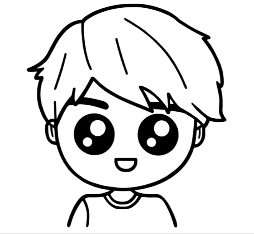 how to draw a boy boy easy drawing step by step for kids this drawing is draw boy a how to