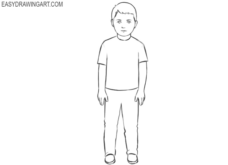 how to draw a boy how to draw a boy easy drawing art boy how to a draw