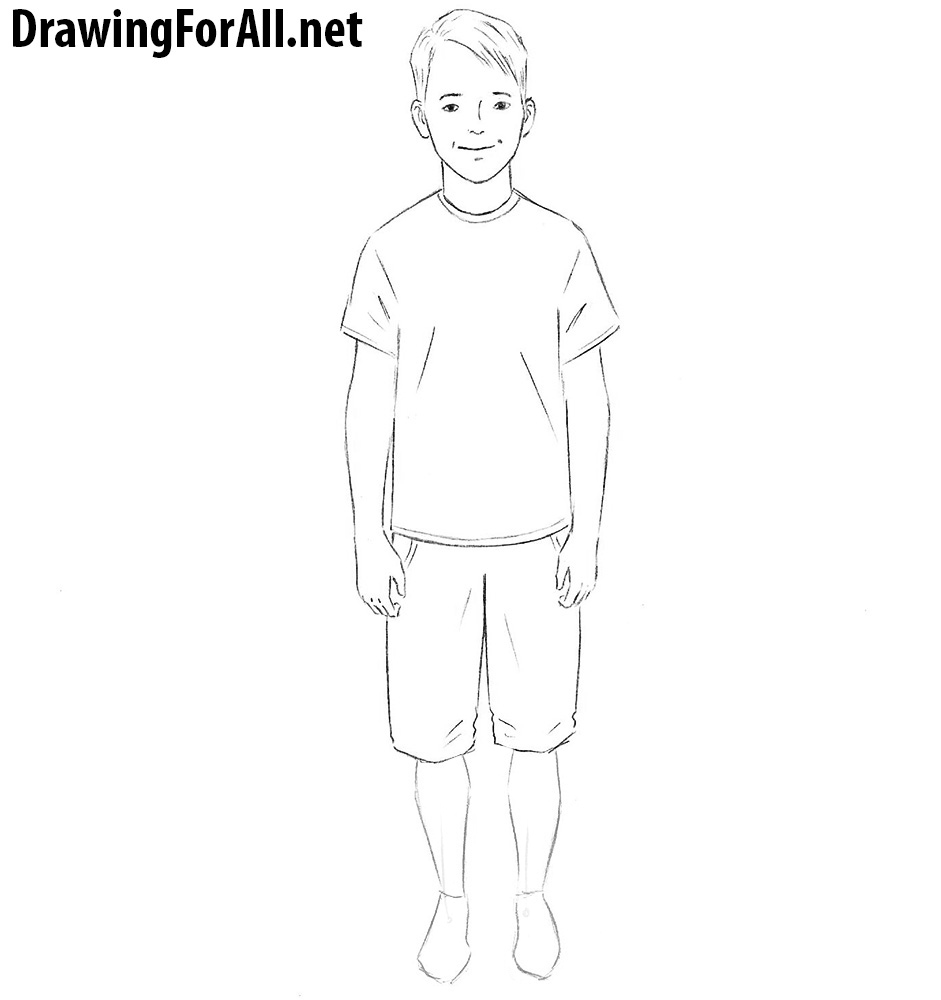 how to draw a boy little boy drawing at getdrawings free download to draw a how boy