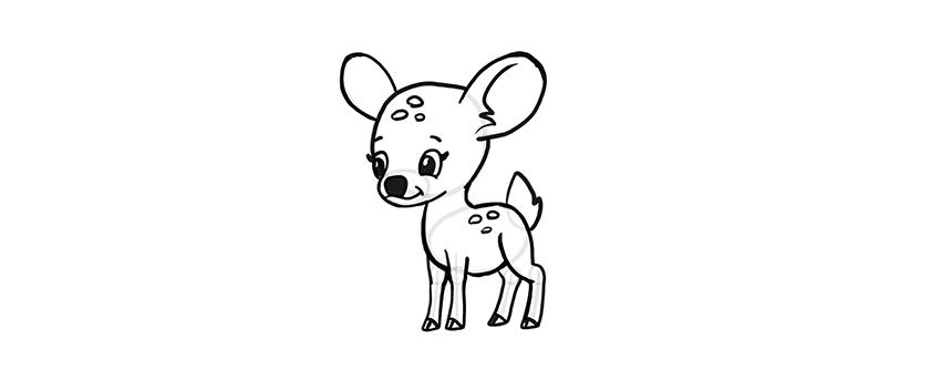 how to draw a buck how to draw a realistic deer draw real deer step by step to draw how buck a