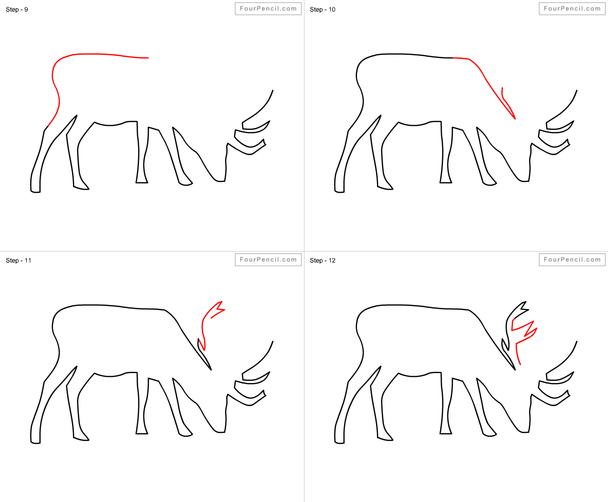 how to draw a buck white tailed deer drawing at getdrawings free download buck to draw how a
