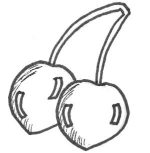 how to draw a cherry how to draw cherries step by step drawing tutorials draw how to cherry a