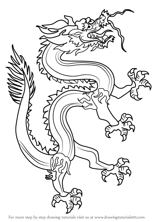 how to draw a chinese dragon how to draw a chinese dragon tattoo step by step tattoos how chinese dragon draw a to