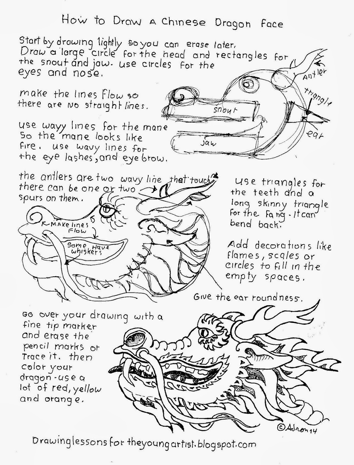 how to draw a chinese dragon how to draw worksheets for the young artist how to draw draw to dragon how a chinese