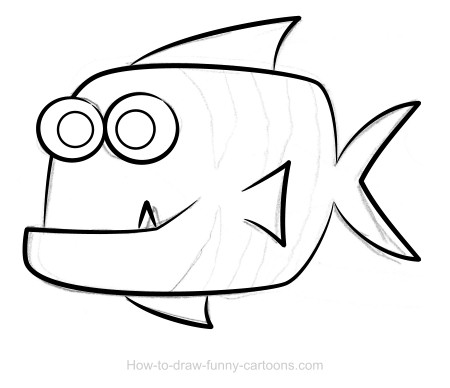 how to draw a fish fish drawing images at paintingvalleycom explore how draw fish a to